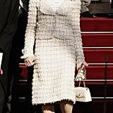 Charlotte Porte le Tailleur Chanel Comme Personne