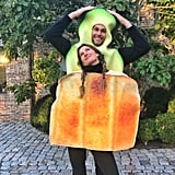 Gisele Bündchen and Tom Brady as Avacado and Toast