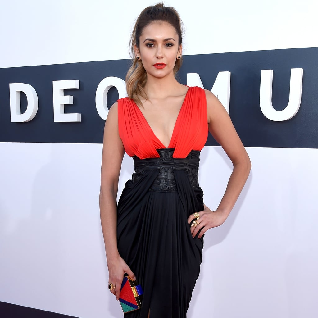 Nina Dobrev Takes a Cue From The Vampire Diaries at the VMAs