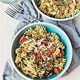 Easy Vegetarian Recipe: Roasted Tomato and Mushroom Pasta