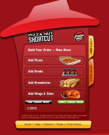 Download of the Day: Pizza Hut Shortcut