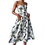 Pizoff Floral Dress