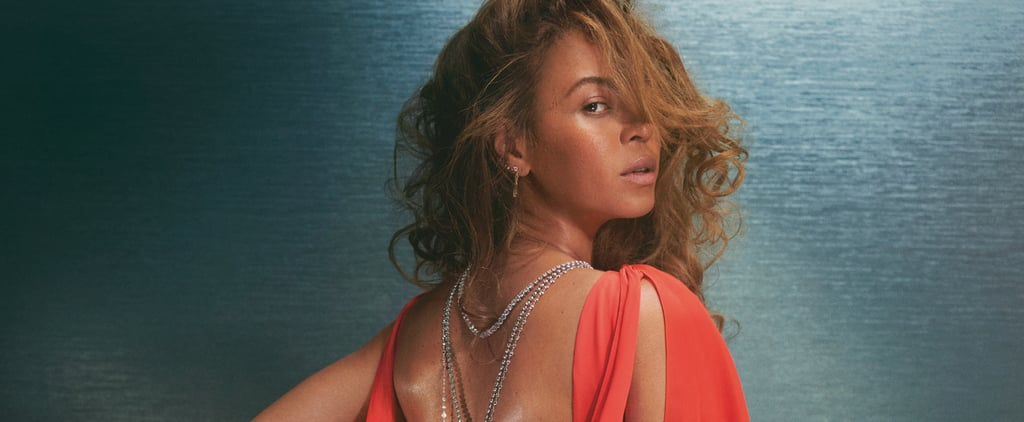 Beyoncé Wears Christopher John Rogers Gown For British Vogue
