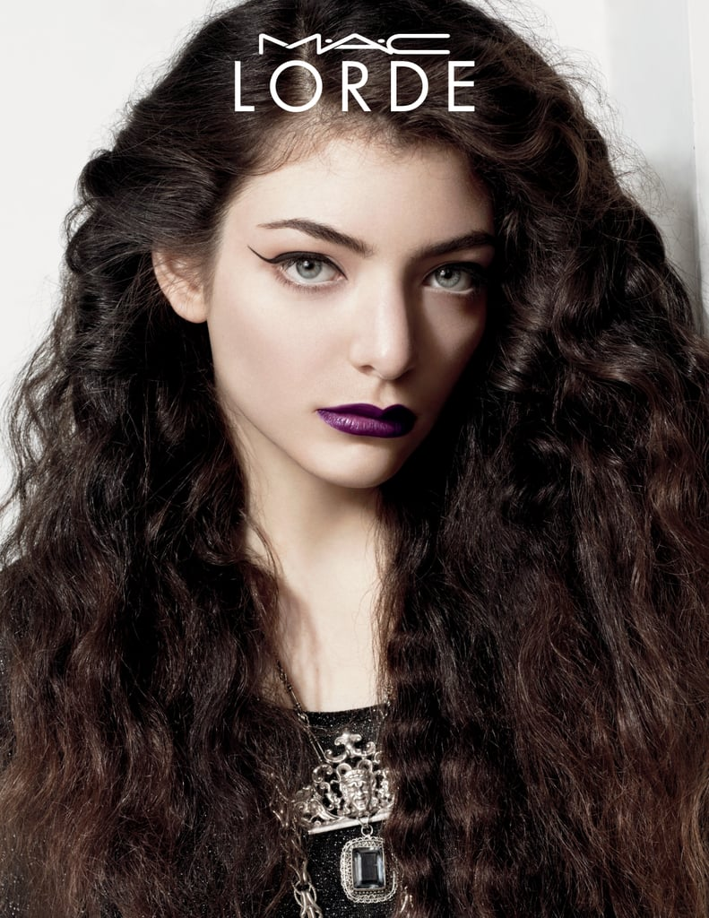Lorde and MAC Cosmetics Makeup Collaboration