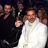 Pictured: Jwan Yosef, Matteo Martin, and Ricky Martin