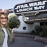 Laura Dern wore sparkly mouse ears in February 2018.