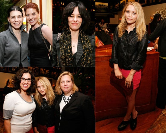 Photos of Mary-Kate Olsen, Julianna Margulies, Debra Messing, Parker Posey at the Women's Filmmaker Brunch