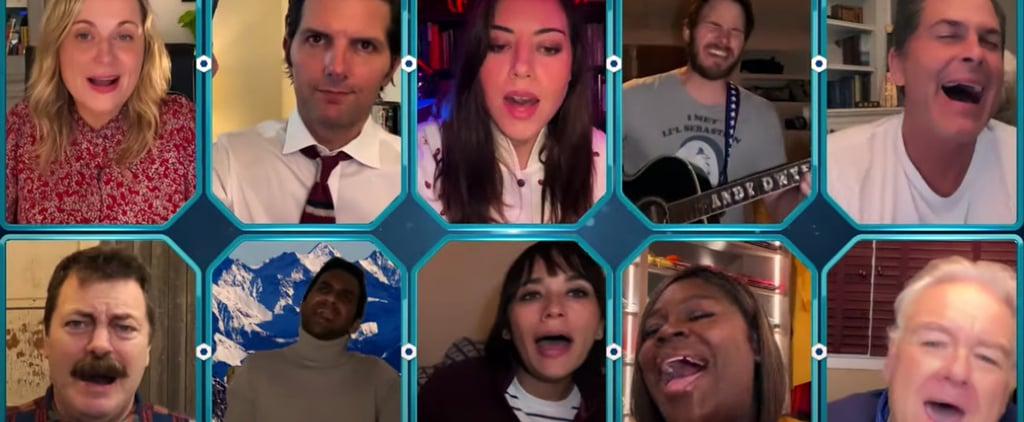 "Watch the Parks and Rec Cast Sing ""Bye Bye, Li'l Sebastian"""