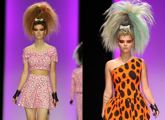Jeremy Scott Spring 2010 at London Fashion Week, Catwalk Photos and Report