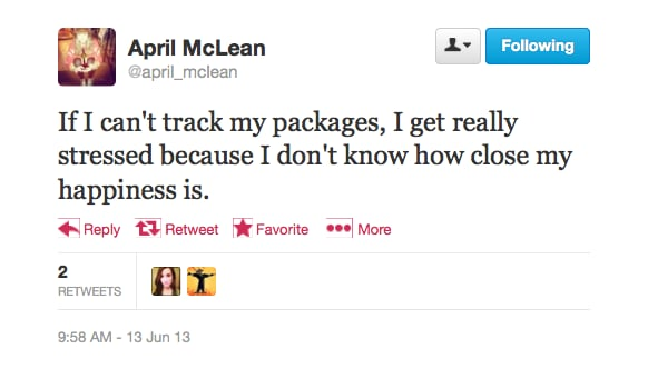 We feel you, @april_mclean.