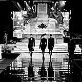 Bella Hadid Walking the CR Runway Luisaviaroma 90th Anniversary Show in Florence, Italy