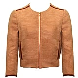 """""""Zoe is a master of tweed and nails that quintessentially British look. This peachy jacket ticks all the boxes for me. It's sharp, sassy, and would look beautiful over anything, especially a white vest and light denim jeans. Yum."""" — Poppy Delevingne  Zoe Jordan Citrine Tweed Hardwick Jacket ($360)"""