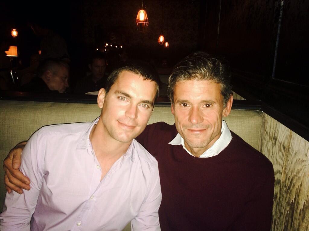 Matt Bomer and Simon Hall: Married