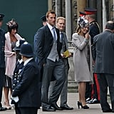 Olympic Swimmer Ian Thorpe Arrives at the Royal Wedding