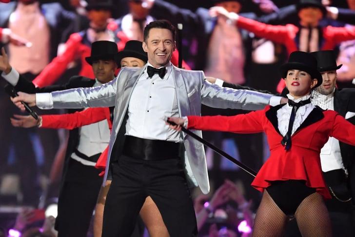 Hugh Jackman Greatest Show 2019 Brit Awards Performance Popsugar Entertainment