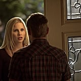 Claire Holt on The Vampire Diaries season finale.
