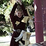 Joffrey Rudely Chops Up Tyrions Wedding