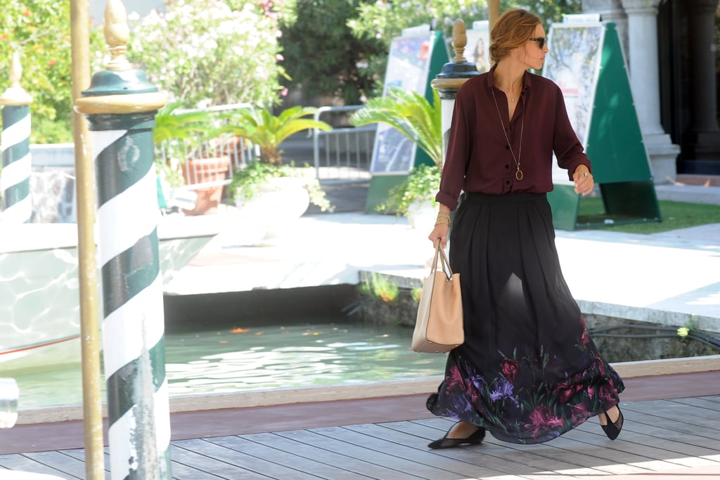 Kasia Smutniak is the master of maxi skirt style — her ...