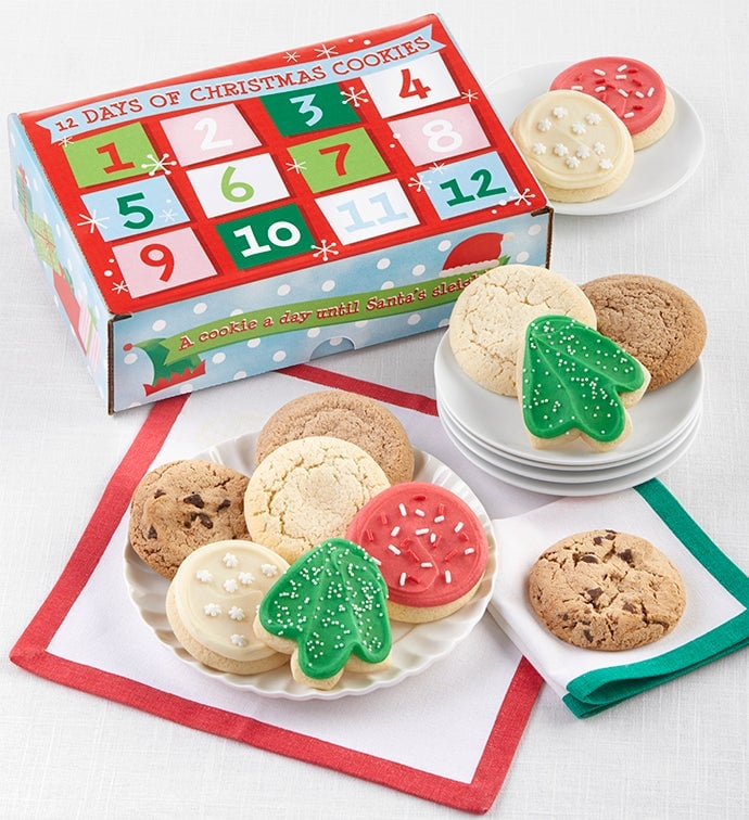 Cheryl's Advent Calendar Cookie Box