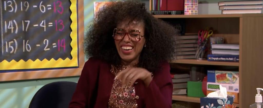 Kerry Washington Mad Lib Theater on The Tonight Show 2018