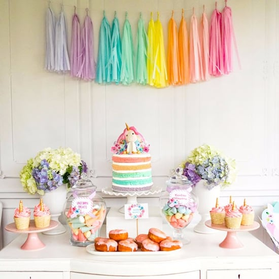 Colorful Pastel Unicorn Birthday Party Idea