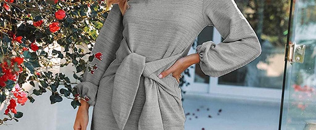 Bestselling Tie-Waist Jumper Dress on Amazon Fashion