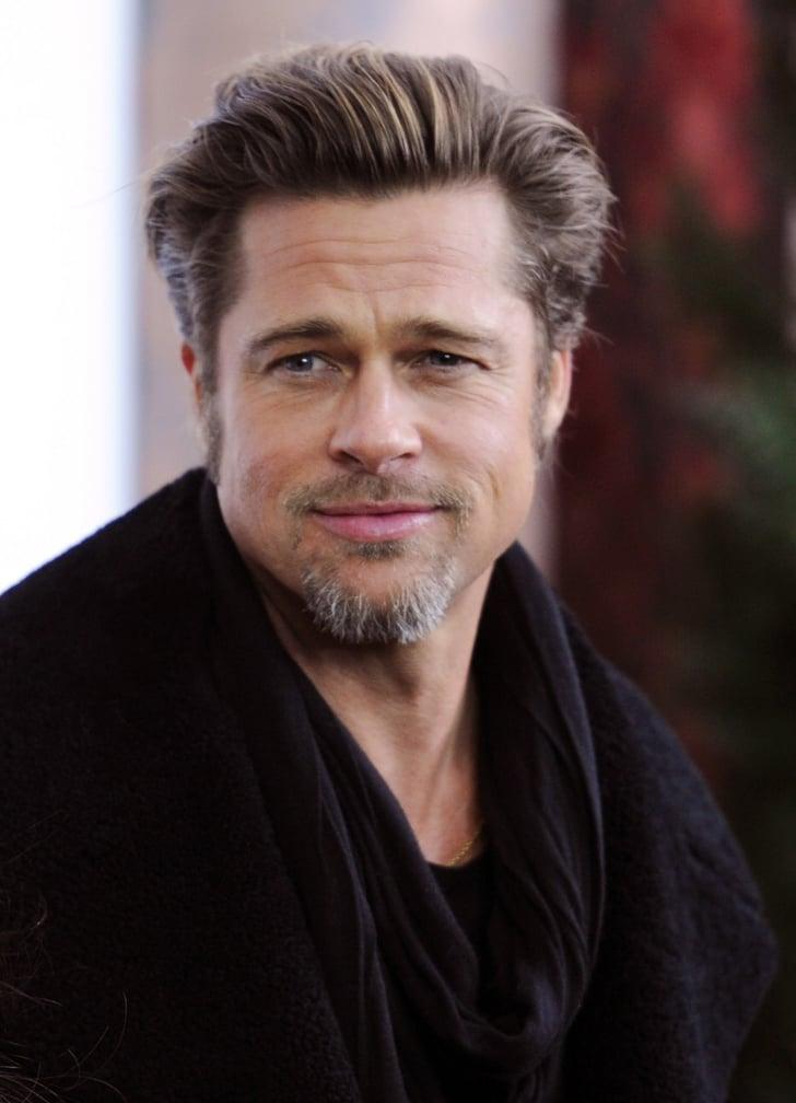 December 2010 The Brush Back Brad Pitt Best Hair