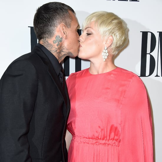 Pictures of Pink and Carey Hart Kissing and Showing PDA
