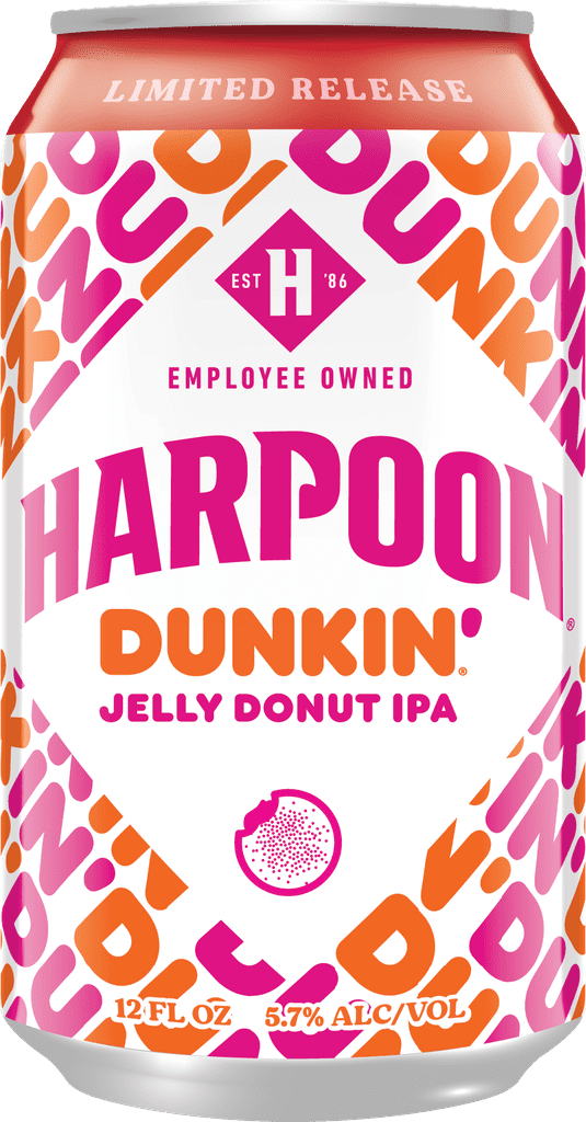 Dunkin Donuts and Harpoon Brewery's New Doughnut Beers