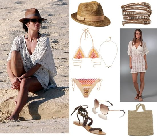 Cindy Crawford's Bohemian Beach Style in Cabo