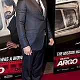 Ben Affleck stepped out for his Argo premiere in Washington DC.