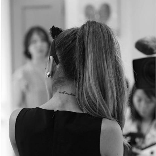 Ariana Grande's Tattoos