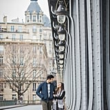 Winter Engagement Shoot in Paris