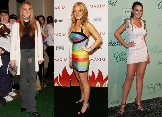 Pictures of Lindsay Lohan's Red Carpet Moments