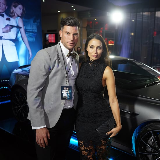 Sam Wood and Snezana Markoski at Sydney Spectre Premiere
