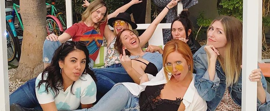 Brittany Snow With Pitch Perfect Stars at Bachelorette Party