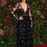Pearl Mackie at the 65th Evening Standard Theatre Awards