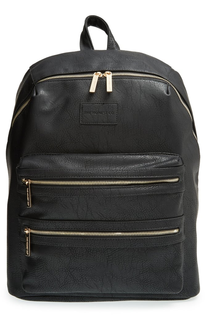 "The Honest Company Infant Girl's ""City"" Faux Leather Diaper Backpack"