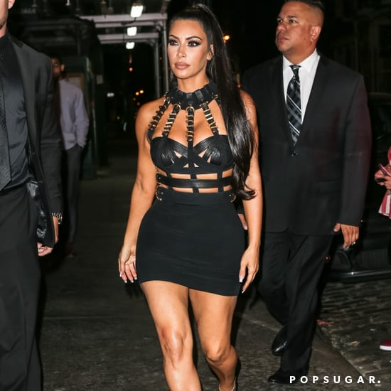 Kim Kardashian Versace Met Gala Afterparty Dress