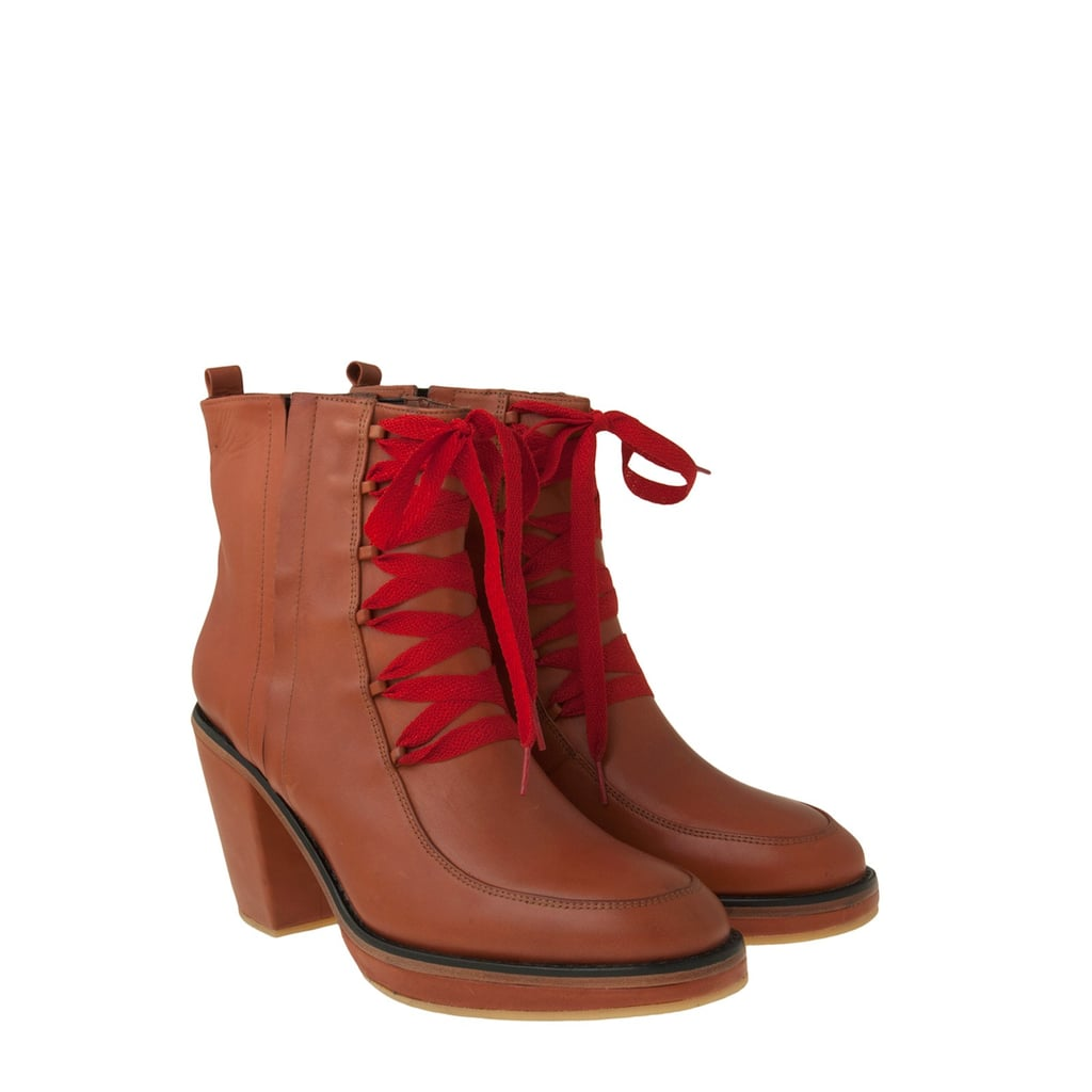 No boring rain boots here; Rachel Comey's waterloo boot ($54, originally $449), with special code EXTRA60POP, will make you want to splash in puddles all day long.