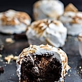Meringue-Encased Chocolate Mousse S'mores