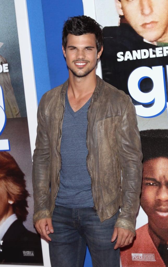 . . . Taylor Lautner!
