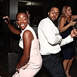 Samira Wiley and O.T. Fagbenle