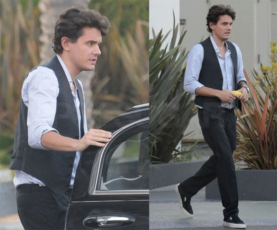 "Photos of John Mayer at Recording Studio, Plans to Remake Michael Jackson's ""Will You Be There"" With Whitney Houston"