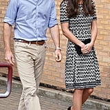 When She Coordinated With Prince William's Belt, Proving They've Mastered Couple Style