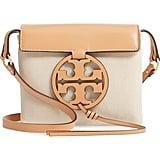 Tory Burch Miller Canvas & Leather Crossbody Bag
