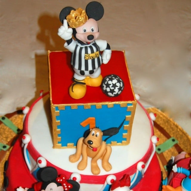 Soccer Star Mickey And Friends Birthday Cakes For Boys Popsugar