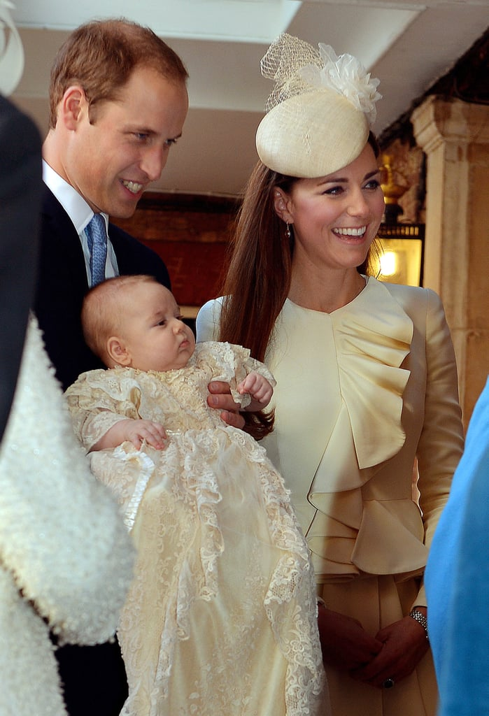 October 2013: George Is Christened
