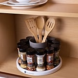 Lazy Susan Turntable Spice Rack