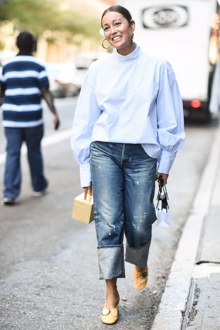 How To Cuff Your Jeans Popsugar Fashion